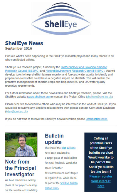 Shelleye News screenshot